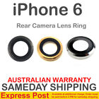 iPhone 6 6+ Rear Back Camera Lens Metal Glass Ring Plus + Gold Silver Black Grey