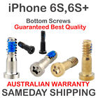 2X iPhone 6S 6S+ Plus Bottom Screws Pentalobe Pair Set Grey Black Gold Silver +