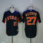 Houston Astros 27 Jose Altuve Navy Jersey