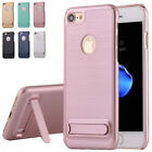 Ultra Thin Hard PC Back with Kickstand Case Cover for iPhone 6 6S 7 Plus 5 5S SE