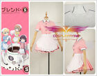 Sakuranomiya Maika Blend・S Apron Dress Maid Servant Cosplay Costume Custom Skirt