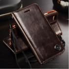 Luxury Flip Men's Leather Wallet Card Cover Cases For iPhone 6/s/7/Plus Vintage