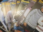 Elenka (Elena) Lopi Knitting PATTERN Your Choice Adults/Children's-White Buffalo