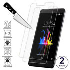 2-Bevy Premium Slim Tempered Glass Screen Film Protector Guard For ZTE Models