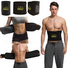 Men Waist Training Trimmer Exercise Belt Burn Fat Sweat Women Sport Body Shaper