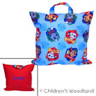 Kids Pillow for Travel - Boys Portable Paw Patrol - Preschooler PERSONALIZED