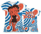 """Betty Boop """"Mod Rings"""" Dye Sublimation Girl's Junior Tee"""