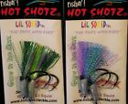Paternoster rigs 2 Arm, Hot Shotz,  NZ made, Oz Seller Fast & Free Postage!!