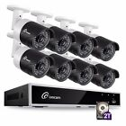 Loocam 1080P HD 4CH 8CH 2MP Surveillance Security Camera Sys