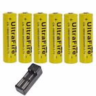 3.7V 18650 9800mAh Li-ion Rechargeable Battery For Flashlight / Charger Optional