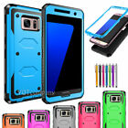 For Samsung Galaxy Phones Slim Hybrid Hard Case Shockproof Armor Rugged Cover