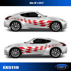 5119 Checkered Flag Vinyl Graphics Decals CAR TRUCK Sticker High Quality EgraF-X