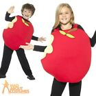 Child Apple Costume Boys Girls Book Week Day Fruit Food Fancy Dress Outfit Kids
