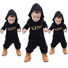 US Newborn Infant Baby Boy Kid King Romper Jumpsuit Bodysuit Clothes Outfits New <br/> 3-5 Days❤Free Shipping❤Return Back❤High Quality