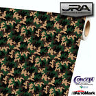 Old School Camouflage Vinyl Car Wrap Camo Film Decal Sheet Roll