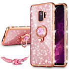 Bling Crystal Case Cover & Ring Stand For Samsung Galaxy S9 /S10 Plus J3 J7 2018