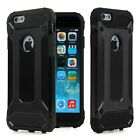 Shockproof Bumper Armor Rubber Hybrid Hard Case Cover For iphone 5 / 6/ 7 / Plus