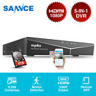 SANNCE 8channel 1080P HDMI DVR Digital Video Record for Security Camera System