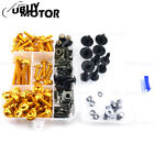 Fairing Bolt Kits Bodywork Screws For Kawasaki GPZ750 GPZ900 GTR1000 Z250 Z125