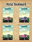 CORVETTE CAR METAL BOOKMARK IDEAL GIFT STOCKING FILLER AMERICAN CLASSIC CAR