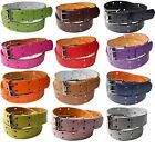 Внешний вид - 2 Hole Punch KIDS Leather Belt 4 sizes S / M / L / XL - 14 COLORS