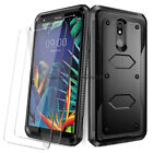 For LG K20 Plus / K20 V / K30 Shockproof Hybrid Protective Hard Phone Case Cover