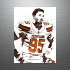 Myles Garrett Cleveland Browns Poster FREE US SHIPPING $15.0 USD on eBay