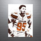 Myles Garrett Cleveland Browns Poster FREE US SHIPPING $14.99 USD on eBay