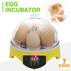 Digital 7/32/48/56/96 Egg Incubator Hatcher Bird Chicken Duck Automatic Turning <br/> 56/32 with observation Lights✔Temperature Control✔