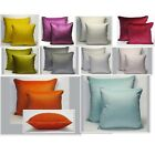 Plain Piped Velvet Cushion Covers Large Or Standard