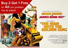 James Bond 007 The Man With The Golden Gun Poster A5 A4 A3 A2 A1 £0.99 GBP on eBay