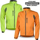 Cycling Waterproof Jacket Rain Proof Bicycle Hi vis Visibbility Coat Breathable