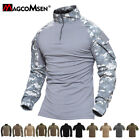 Breathable Mens Tactical Combat Shirt Military Rapid Assault Army T-Shirts Tops