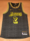 NEW Lonzo Ball #2 Los Angeles Lakers Men's Adult Basketball Jersey S-XXL