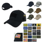 Ripstop Cotton Tactical Duty Operator Military Caps Hats with Front Patch