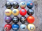 New! NFL Team Logo Billiard / Pool / Cue Ball- Pick Your Team! FREE SHIPPING $13.99 USD