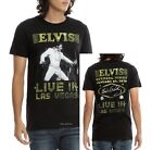 Elvis Presley T-Shirt Live In Las Vegas Rock N Roll Official L 2XL 3XL NWT