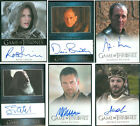 Renly Baratheon Karstark Mero Frey Game of Thrones 3 Card Auto Autograph Signed