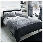 Lions Modern NYC New York City Quilt Duvet Cover Bedding Set With Pillow Cases