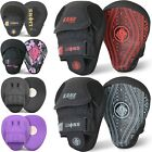 Curved Focus Pads Mitts Hook and Jab Punching Kick Boxing Muay Thai MMA Strike