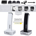 Kemei Rechargeable Men's Electric Shaver Razor Beard Hair Clipper Trimmer Black