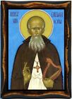 Columba, Apostle to the Picts Handmade wood icon on plaque