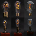G80 E27 Dimmable Retro Vintage Edison Squirrel Cage  LED Filament Light Bulb