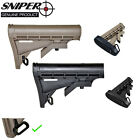 Sniper Comm Spec Adjustable Buttstock Stock, Polymer w/ QD Sling Swivel AdaptorRifle - 73949
