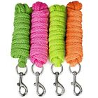 Strong Acrylic Lead Rope 2 M Trigger Clip - Horse Dog Pony - All Colours Brights