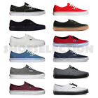 white canvas shoes for men -  Vans New Authentic Era Classic Sneakers Unisex Canvas Shoes