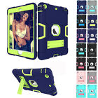 Full Body Three Layer ShockProof Protective Stand Case Cover for iPad Mini 1 2 3