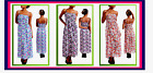 WOMENS PLUS & REGULAR  SIZE L 1X 2X FLORAL DRESS WHITE PINK PURPLE ORANGE DRESS