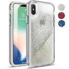 Poetic Cascade【360 Degree Protection】iPhone X SPARKLING GLITTER Case 3 Color  iphone x cases 360 protection 1529327654054040 1