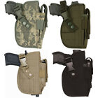 Standard Size Modular Tactical Holster - Attached clip pouch, One Size Fits Most